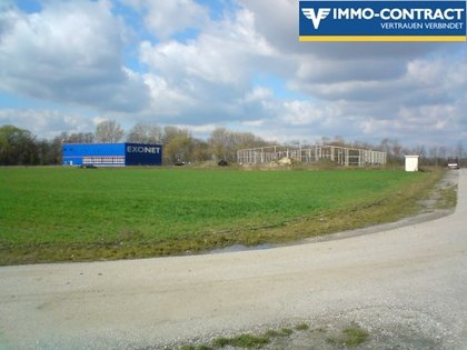 Industrie Bauland in 2433 Margarethen am Moos